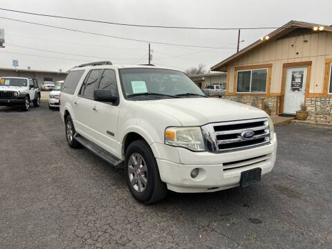 2008 Ford Expedition EL for sale at The Trading Post in San Marcos TX
