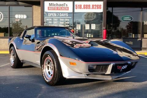 1978 Chevrolet Corvette for sale at Michaels Auto Plaza in East Greenbush NY