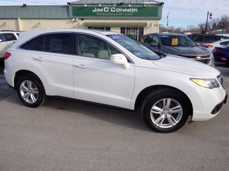 2014 Acura RDX for sale at Jim O'Connor Select Auto in Oconomowoc WI
