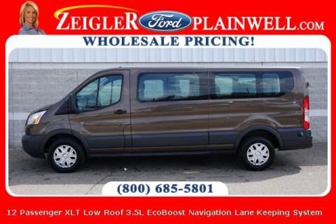 2016 Ford Transit Passenger for sale at Zeigler Ford of Plainwell- Jeff Bishop in Plainwell MI