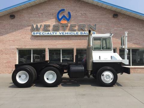 1988 Capcity T/A Tandem Yard Spotter for sale at Western Specialty Vehicle Sales in Braidwood IL