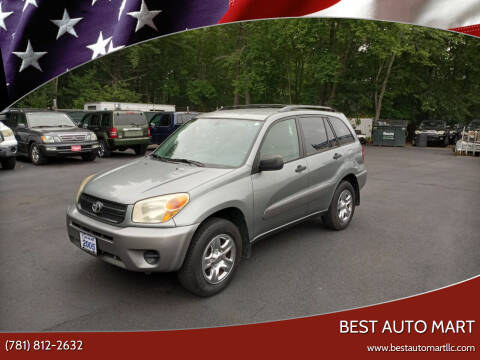 2005 Toyota RAV4 for sale at Best Auto Mart in Weymouth MA