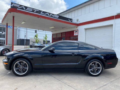 2008 Ford Mustang for sale at FAST LANE AUTO SALES in San Antonio TX