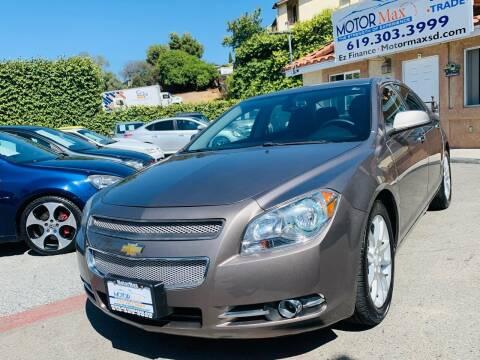 2011 Chevrolet Malibu for sale at MotorMax in Lemon Grove CA
