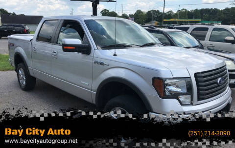 2012 Ford F-150 for sale at Bay City Auto's in Mobile AL