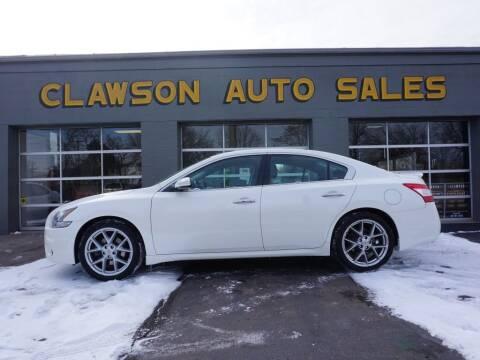 2011 Nissan Maxima for sale at Clawson Auto Sales in Clawson MI