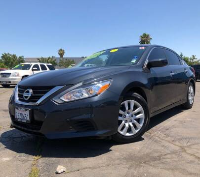 2016 Nissan Altima for sale at LUGO AUTO GROUP in Sacramento CA