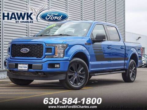 2019 Ford F-150 for sale at Hawk Ford of St. Charles in Saint Charles IL