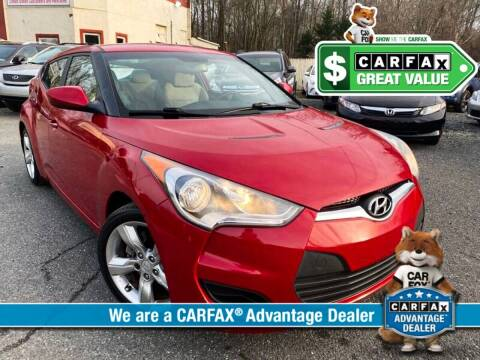 2012 Hyundai Veloster for sale at High Rated Auto Company in Abingdon MD