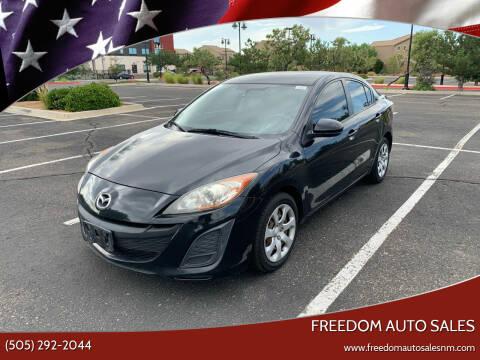 2011 Mazda MAZDA3 for sale at Freedom Auto Sales in Albuquerque NM