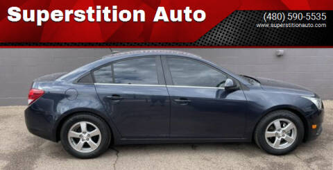 2014 Chevrolet Cruze for sale at Superstition Auto in Mesa AZ