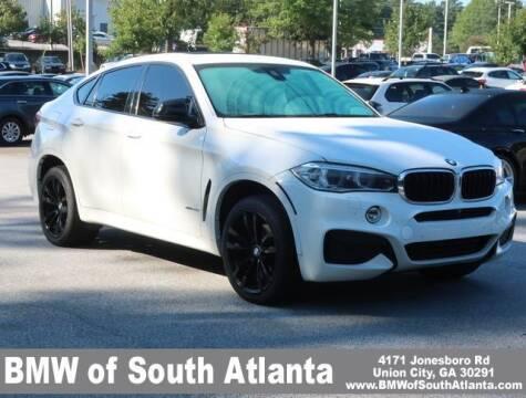 2015 BMW X6 for sale at Carol Benner @ BMW of South Atlanta in Union City GA