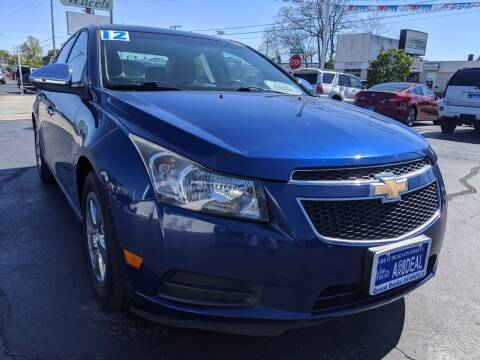 2012 Chevrolet Cruze for sale at GREAT DEALS ON WHEELS in Michigan City IN
