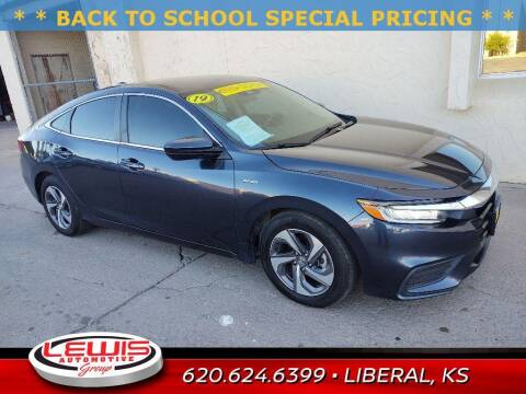 2019 Honda Insight for sale at Lewis Chevrolet Buick of Liberal in Liberal KS