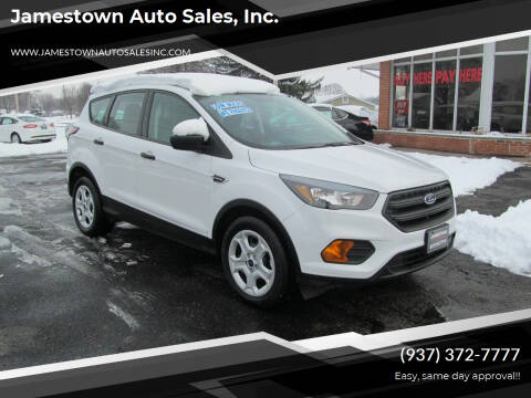 2018 Ford Escape for sale at Jamestown Auto Sales, Inc. in Xenia OH