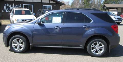 2013 Chevrolet Equinox for sale at AUTOHAUS in Tomahawk WI