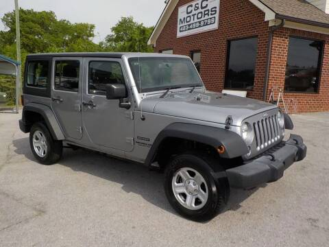 2015 Jeep Wrangler Unlimited for sale at C & C MOTORS in Chattanooga TN