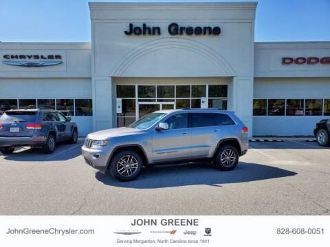 2017 Jeep Grand Cherokee for sale at John Greene Chrysler Dodge Jeep Ram in Morganton NC