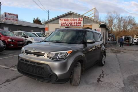 2015 Kia Soul for sale at SAI Auto Sales - Used Cars in Johnson City TN