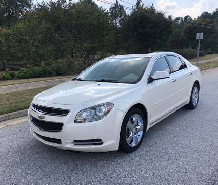 2012 Chevrolet Malibu for sale at Judex Motors in Loganville GA