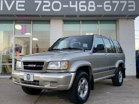 1999 Isuzu Trooper for sale at Shift Automotive in Denver CO