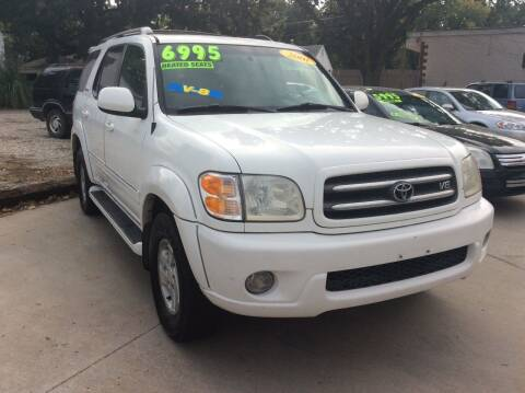 2001 Toyota Sequoia for sale at Harrison Family Motors in Topeka KS