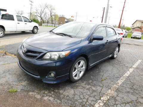 2013 Toyota Corolla for sale at WOOD MOTOR COMPANY in Madison TN