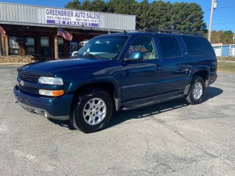 2006 Chevrolet Suburban for sale at Greenbrier Auto Sales in Greenbrier AR