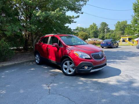 2015 Buick Encore for sale at THE AUTO FINDERS in Durham NC