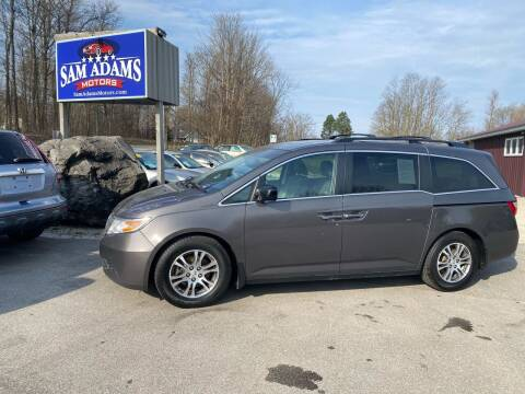 2012 Honda Odyssey for sale at Sam Adams Motors in Cedar Springs MI