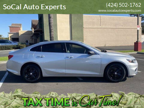 2017 Chevrolet Malibu for sale at SoCal Auto Experts in Culver City CA