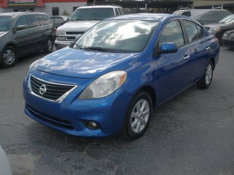 2013 Nissan Versa for sale at Priceline Automotive in Tampa FL