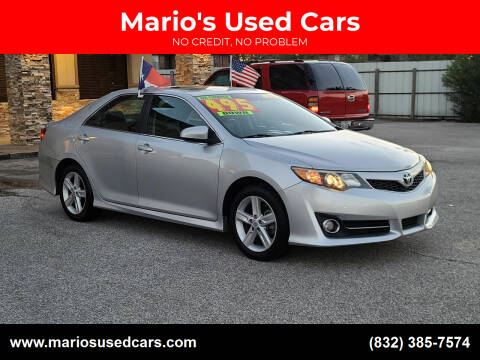 2014 Toyota Camry for sale at Mario's Used Cars - Pasadena Location in Pasadena TX
