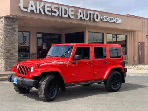 2015 Jeep Wrangler Unlimited for sale at Lakeside Auto Brokers in Colorado Springs CO