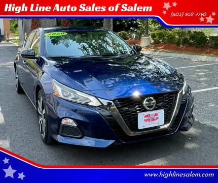 2020 Nissan Altima for sale at High Line Auto Sales of Salem in Salem NH