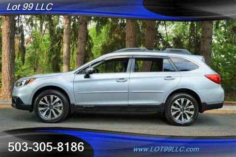 2016 Subaru Outback for sale at LOT 99 LLC in Milwaukie OR