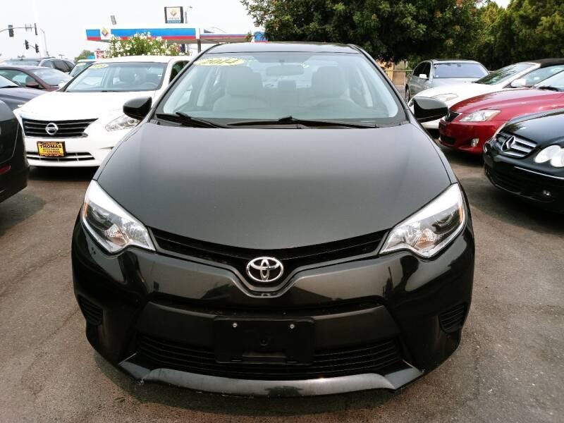 2014 Toyota Corolla for sale at Thomas Auto Sales in Manteca CA