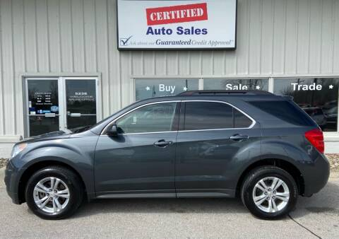 2011 Chevrolet Equinox for sale at Certified Auto Sales in Des Moines IA