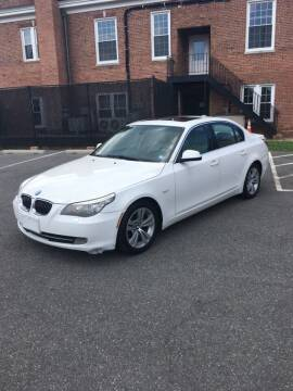 2010 BMW 5 Series for sale at All American Imports in Arlington VA