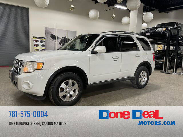 2012 Ford Escape for sale at DONE DEAL MOTORS in Canton MA