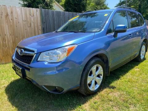 2015 Subaru Forester for sale at ALL Motor Cars LTD in Tillson NY