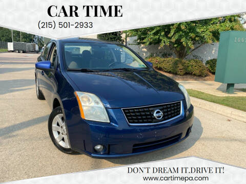 2009 Nissan Sentra for sale at Car Time in Philadelphia PA