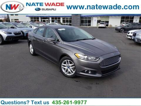 2013 Ford Fusion for sale at NATE WADE SUBARU in Salt Lake City UT