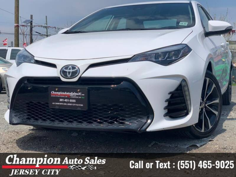 2019 Toyota Corolla for sale at CHAMPION AUTO SALES OF JERSEY CITY in Jersey City NJ