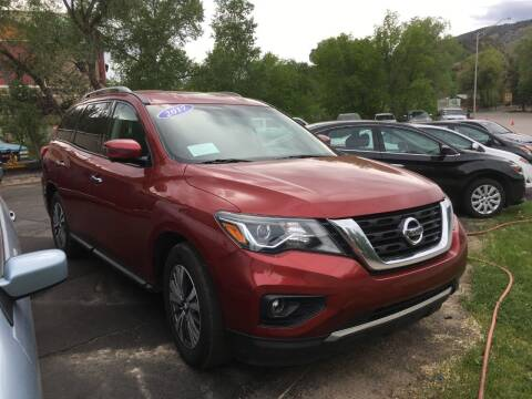 2017 Nissan Pathfinder for sale at 4X4 Auto Sales in Durango CO