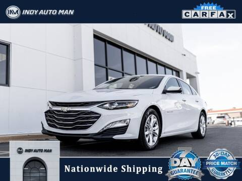 2020 Chevrolet Malibu for sale at INDY AUTO MAN in Indianapolis IN