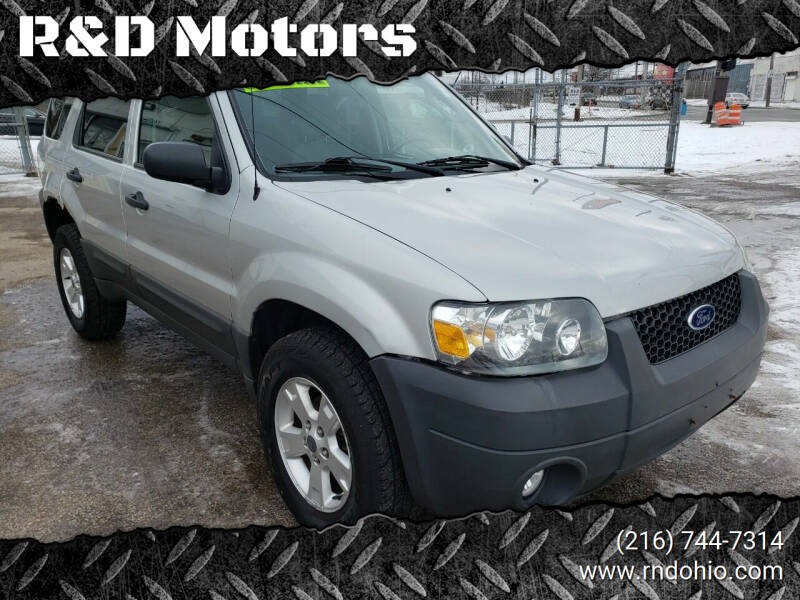2007 Ford Escape for sale at R&D Motors LLC in Cleveland OH