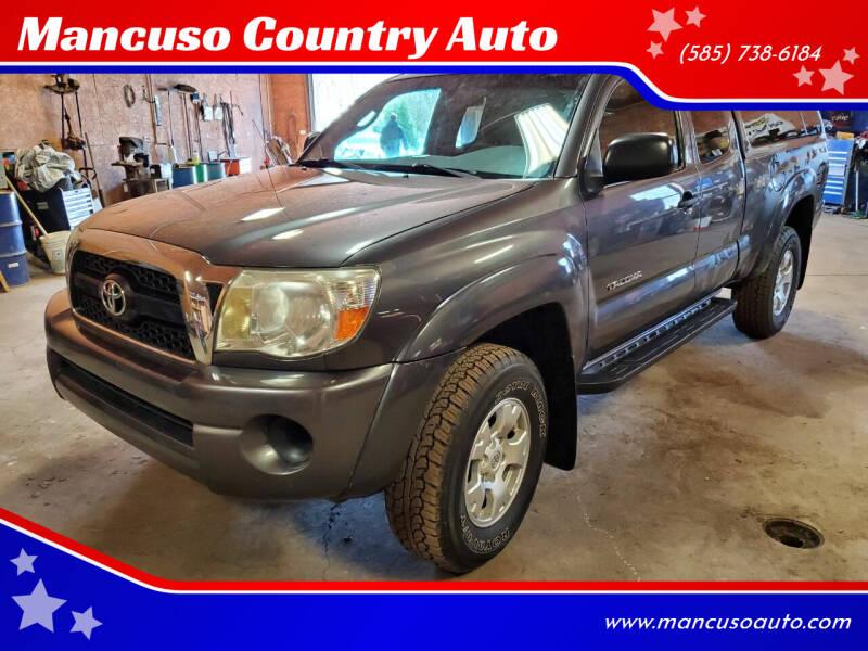 2011 Toyota Tacoma for sale at Mancuso Country Auto in Batavia NY