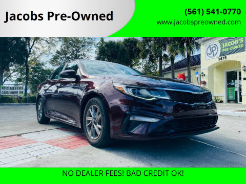 2019 Kia Optima for sale at Jacobs Pre-Owned in Lake Worth FL