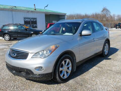 2010 Infiniti EX35 for sale at Low Cost Cars in Circleville OH